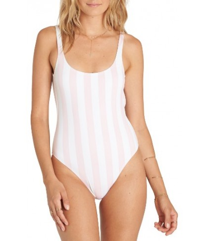 Billabong No Worries One-Piece Swimsuit - White