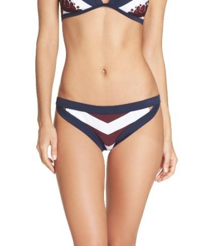 Ted Baker London Rowing Stripe Bikini Bottoms - Blue