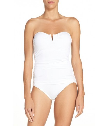 Tommy Bahama 'Pearl' Convertible One-Piece Swimsuit - White