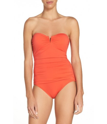 Tommy Bahama 'Pearl' Convertible One-Piece Swimsuit - Purple