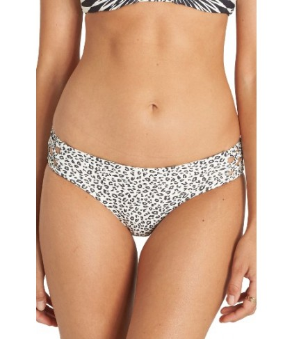 Billabong Wild Bound Reversible Bikini Bottoms - Black