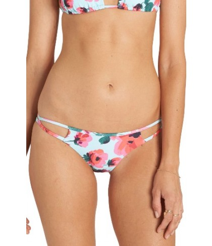 Billabong Bella Beach Tropic Bikini Bottoms - Blue/green