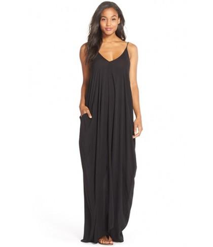 Elan V-Back Cover-Up Maxi Dress