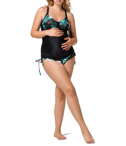 Cake 'Soda' Maternity/nursing Tankini Top & Brief Bikini Bottoms