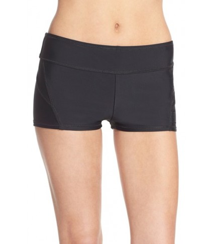 Zella Boyshort Swim Bottoms  - Black