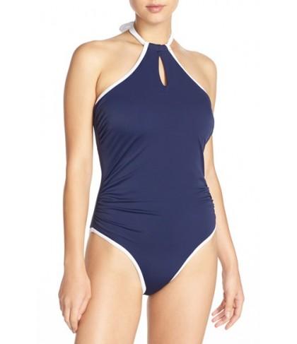 Freya 'In The Navy' Underwire One-Piece Swimsuit0E (DDD US) - Blue