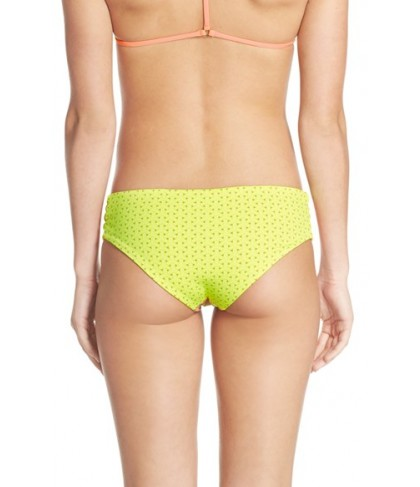 Maaji 'Tassels Dali' Reversible Bikini Bottoms  - Orange