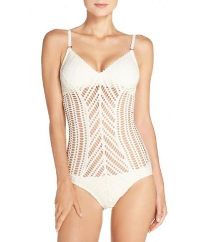 Robin Piccone 'Sophia' Cutout One-Piece Swimsuit