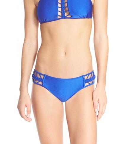 Luli Fama Braided Sides Bikini Bottoms