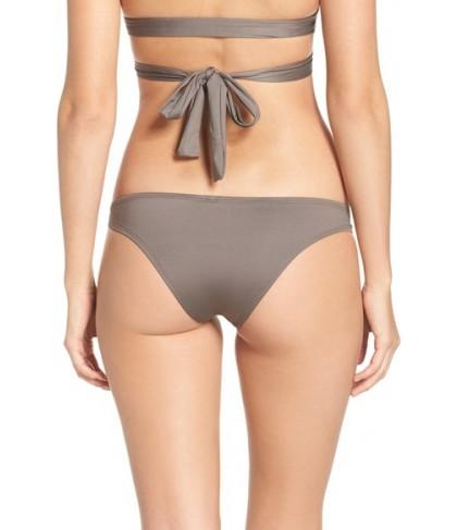 Vitamin A Neutra Hipster Bikini Bottoms  - Grey